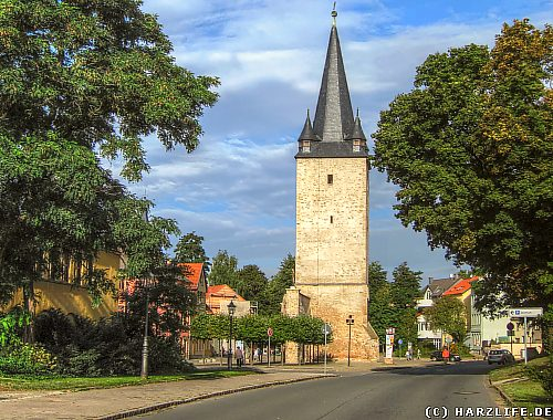 Der Johannistorturm in Aschersleben