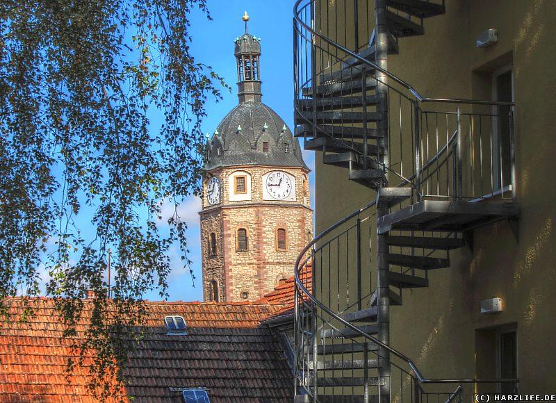 Der schiefe Turm von Sangerhausen