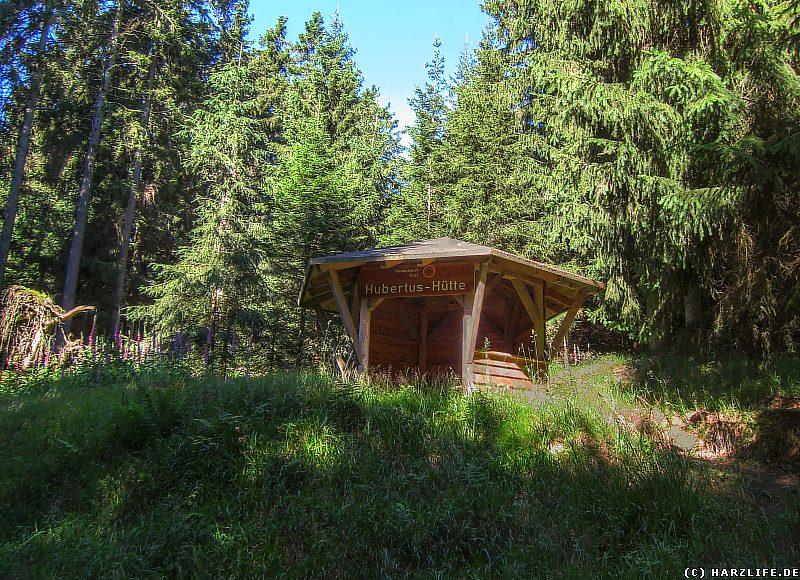 Die Hubertus-Hütte im Harz