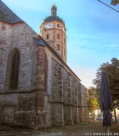 Die Jacobikirche in Sangerhausen