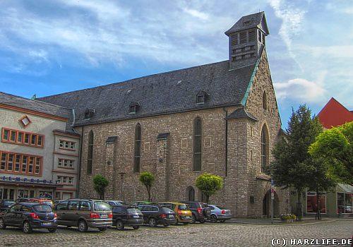 Die Heilig-Kreuz-Kirche - Marktkirche - in Aschersleben