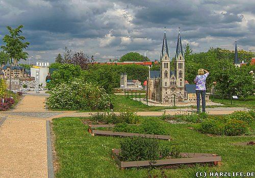 Der Miniaturenpark ''Kleiner Harz'' in Wernigerode