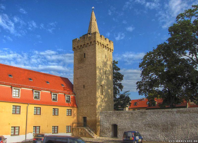 Der Rabenturm in Aschersleben