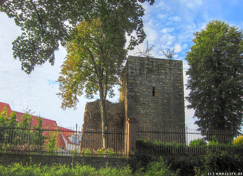 Der Schimmelpfennigsche Turm an der Stadtmauer