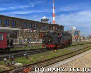 Der Bahnhof der Brockenbahn
