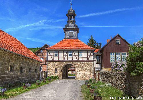 Das Torhaus des Klosters Michaelstein