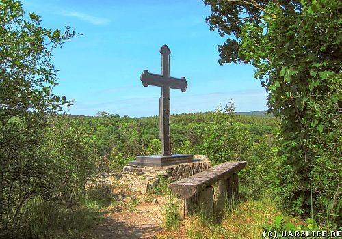 Eisenkreuz an der Magdtrappe