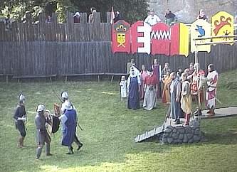 Die Schlacht um die Burg Regenstein