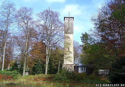 Der Albertturm auf dem Iberg