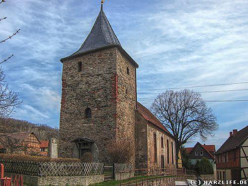 Die St. Bartholomäuskirche in Biesenrode