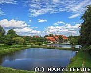 Blick auf Kloster Michaelstein