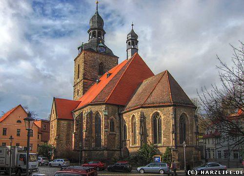 Die Jakobikirche in Hettstedt