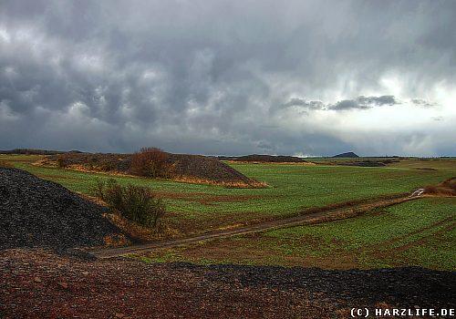 Die Kleinhaldenlandschaft bei Hettstedt