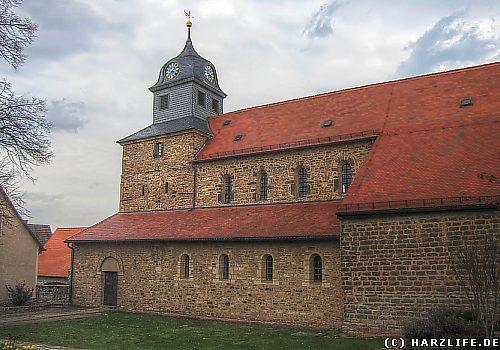 Die Klosterkirche St. Marien in Klostermansfeld