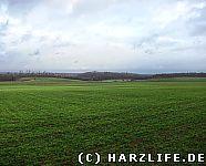 Landschaft im Altbergbaugebiet Tilkerode