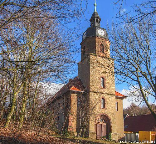 Die Nikolaikirche in Burgörner