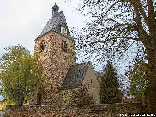 Die St.-Wigberti-Kirche in Riestedt