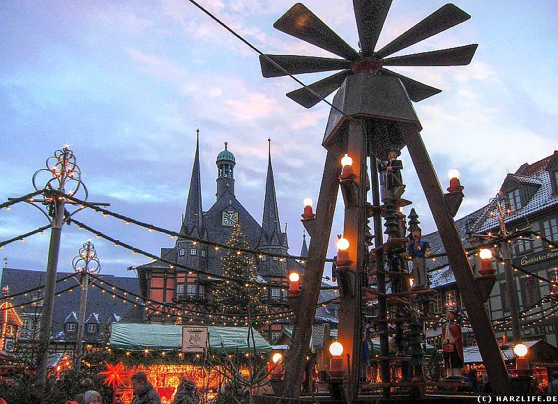 Der Weihnachtsmarkt in Wernigerode
