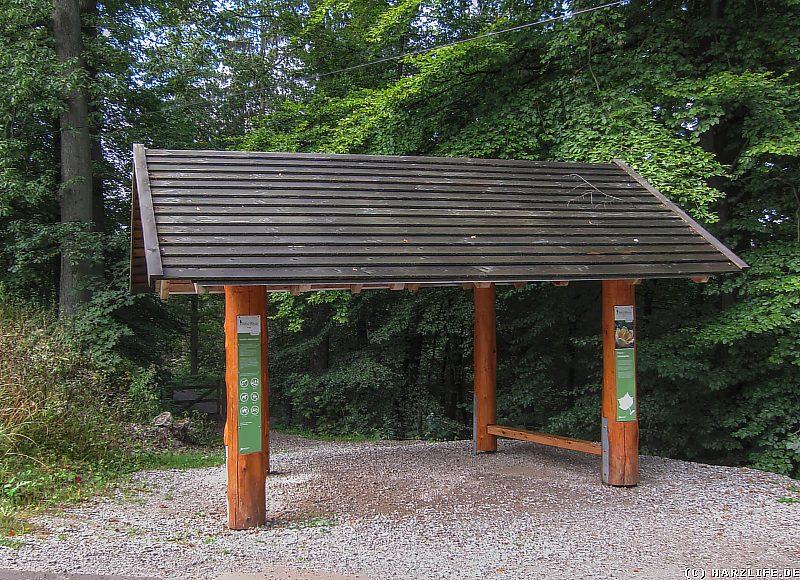 Der Ostamerika-Eingang vom WeltWald Harz