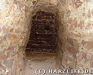 Mauerdurchbruch Bergfried