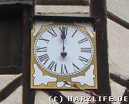 Einzeiger-Uhr
