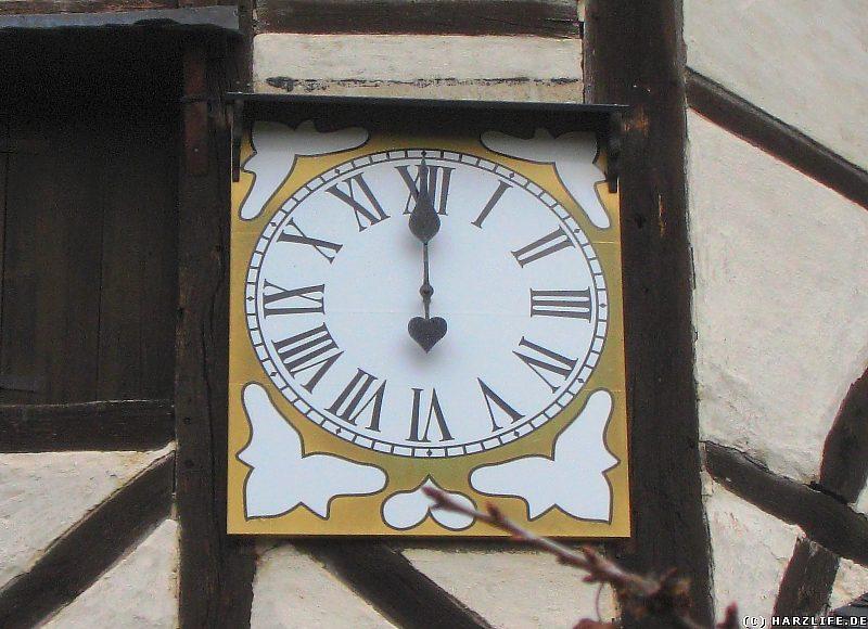 Uhr mit einem Zeiger