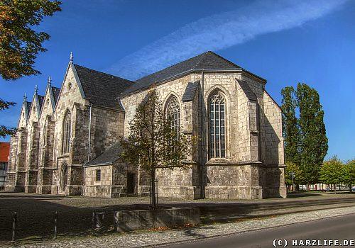 Die St. Johanniskirche auf dem Marktplatz von Ellrich