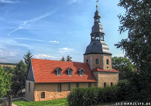 Die St.-Martin-Kirche in Leimbach