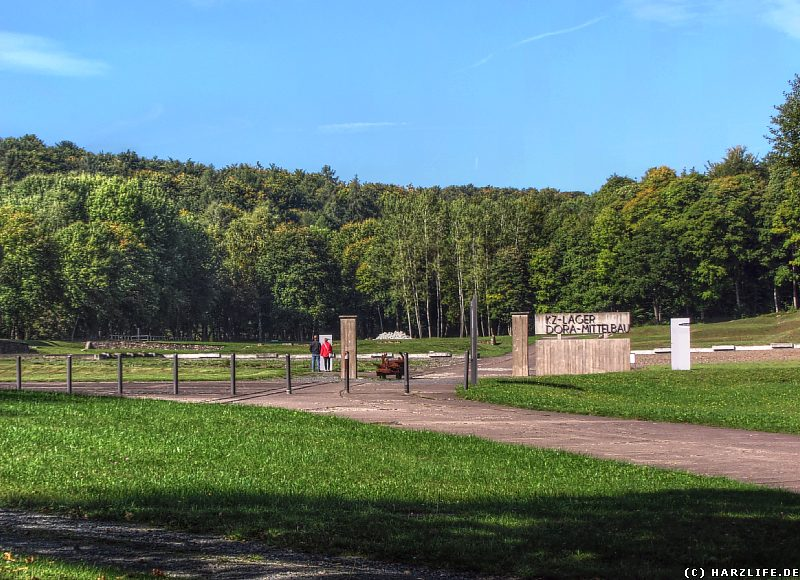 Das ehemalige Häftlingslager des Konzentrationslagers Mittelbau-Dora
