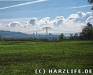 Blick nach Nordhausen