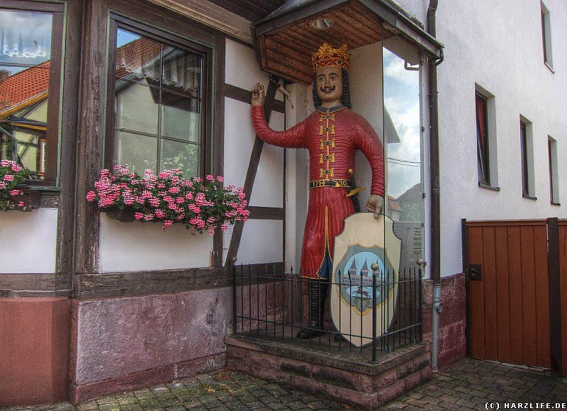 Rolandfigur in Neustadt
