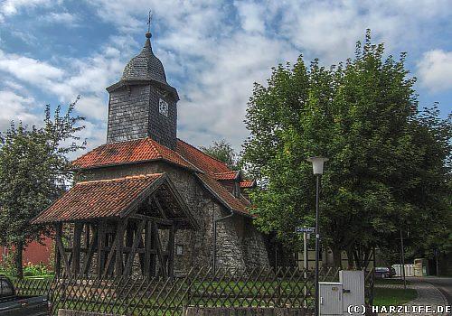 Die Kirche in Petersdorf