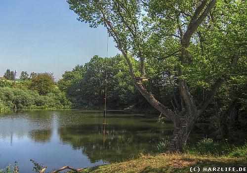 Der Rädersee bei Rodishain