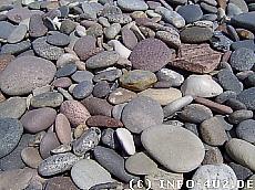 Hintergrundbild Steine am Strand